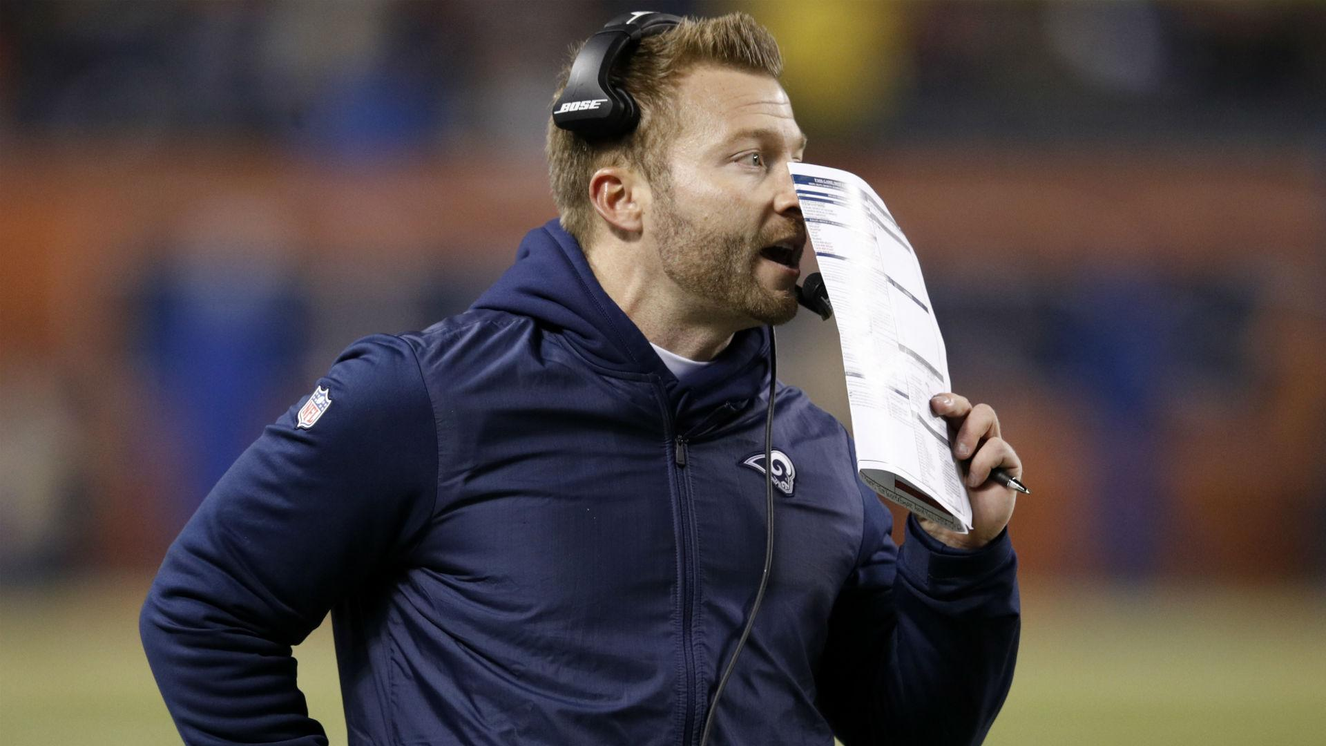 McVay 'sick' over offensive failings as Rams coach takes blame for loss