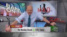 Not too late to buy bank stocks: Cramer