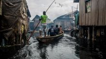 Residents of Nigeria's floating slum keep their hopes up as lockdown sinks their livelihoods