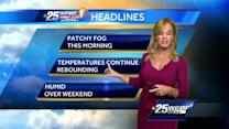 First Alert Forecast: Warm, dry conditions continue