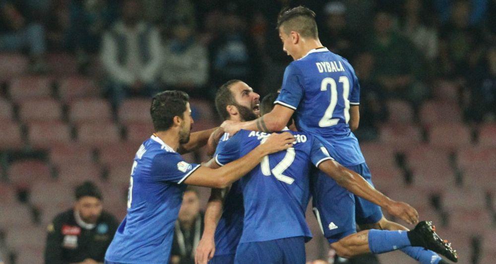 Napoli-Juventus 3-2: 'Madama' raggiunge in finale la Lazio