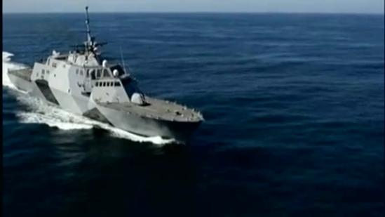 USS Freedom makes brief stop in Hawaii