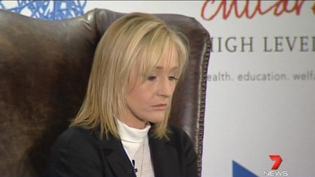 JK Rowling outed as crime author