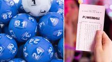 Mum's mistake before $107 million Powerball win
