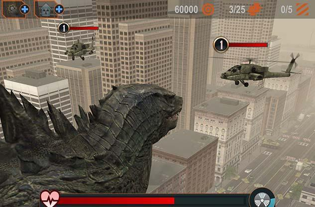 Just in time for his film return, Godzilla has an iOS game