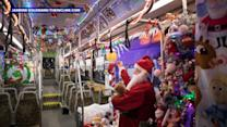 Pittsburgh Bus Driver Decorates Public Bus for the Holiday Season