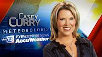 Casey Curry's weekend forecast