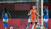 東奧》女足預賽第二輪  巴西與荷蘭戰平、瑞典全勝出線