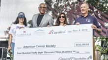 Carnival Corporation Breaks the Million-Dollar Mark at Its 2019 American Cancer Society Relay For Life by Raising Over $500,000