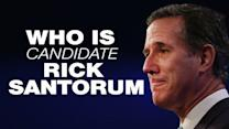 Who is presidential candidate Rick Santorum?