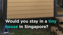 Start-up introduces tiny houses to Singapore families