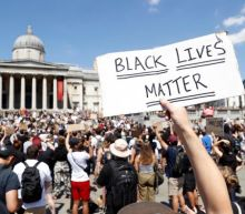 Black Lives Matter: Trafalgar Square filled with hundreds ignoring social distancing rule to protest at George Floyd death in US