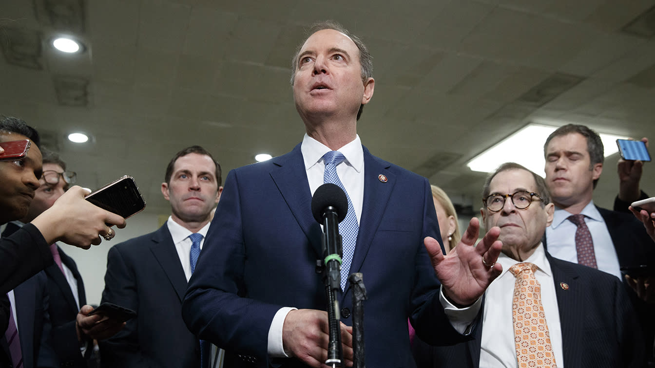 Schiff lobbies Chief Justice Roberts to rule on questions of executive privilege