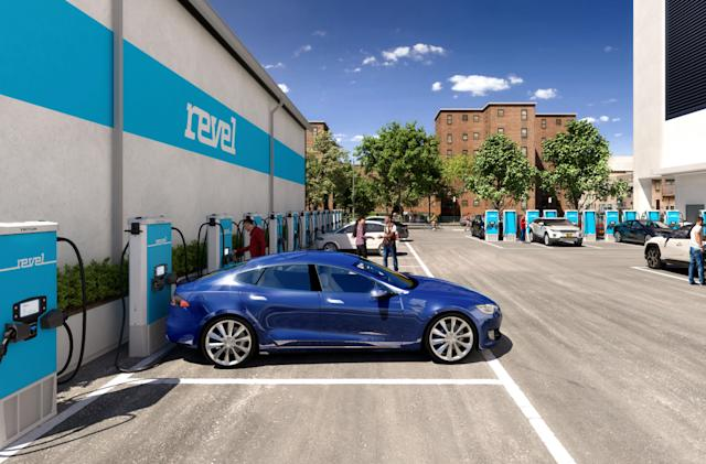 Revel plans to build a network of EV fast-charging stations in NYC