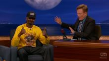 Snoop Dogg's Weed-Smoking Trailer Made Him Late for 'Conan' Interview