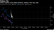 Indian Stocks Halt Five-Day Rally