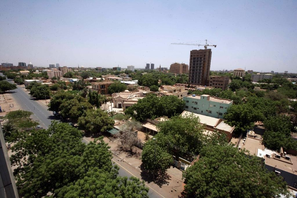 A general view of the Sudanese capital, Khartoum, seen on June 27, 2014