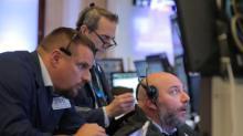 S&P, Dow advance on trade optimism; Nvidia sinks Nasdaq