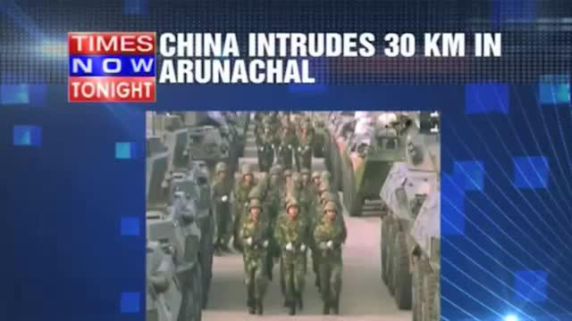 China flexes muscle in Arunachal