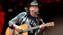 Neil Young won't use Facebook over site's 'obvious commitments' to Republicans