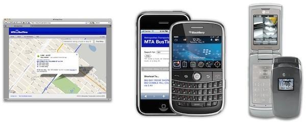 Brooklyn bus riders get real-time bus tracking via cellphone
