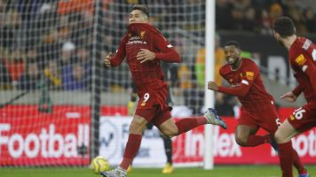 Still unbeaten: Firmino saves day for Liverpool