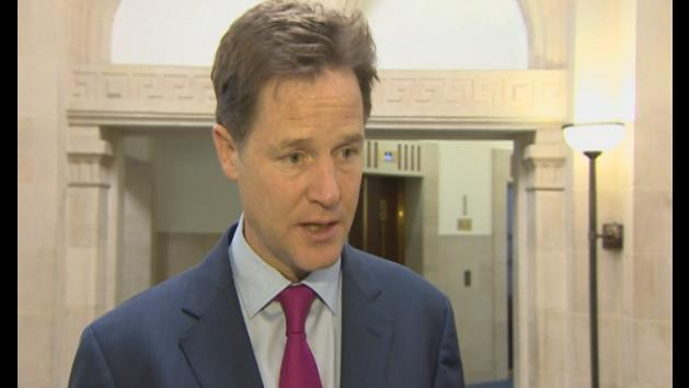 Clegg stresses importance of increased airport security