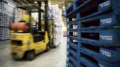 Brambles profit dips 27% on rising costs