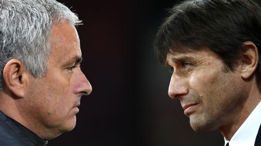 """Mourinho replica a Conte: """"Potrei parlare, ma non voglio perdere i capelli..."""""""