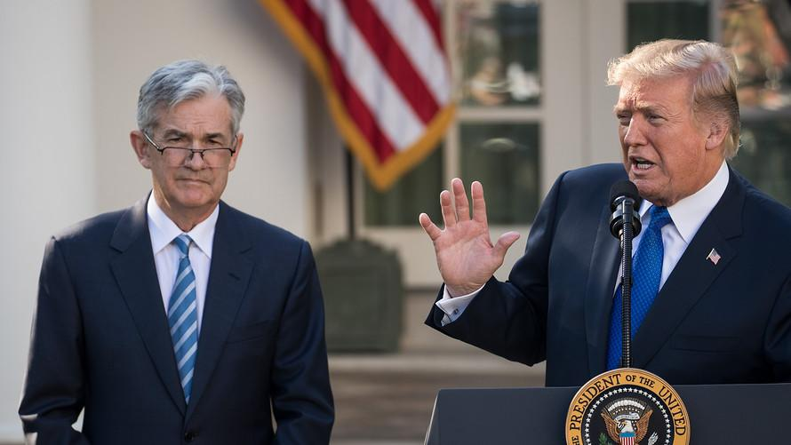 Brace for a stock market drop if the Fed's Powell doesn't yield to Trump