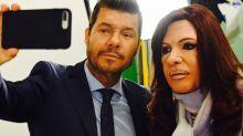 El mano a mano de Marcelo Tinelli con 'Cristina Kirchner'