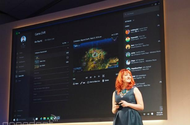 Xbox apps, DVR, cross-platform streaming heads to Windows 10 [Update: Video]