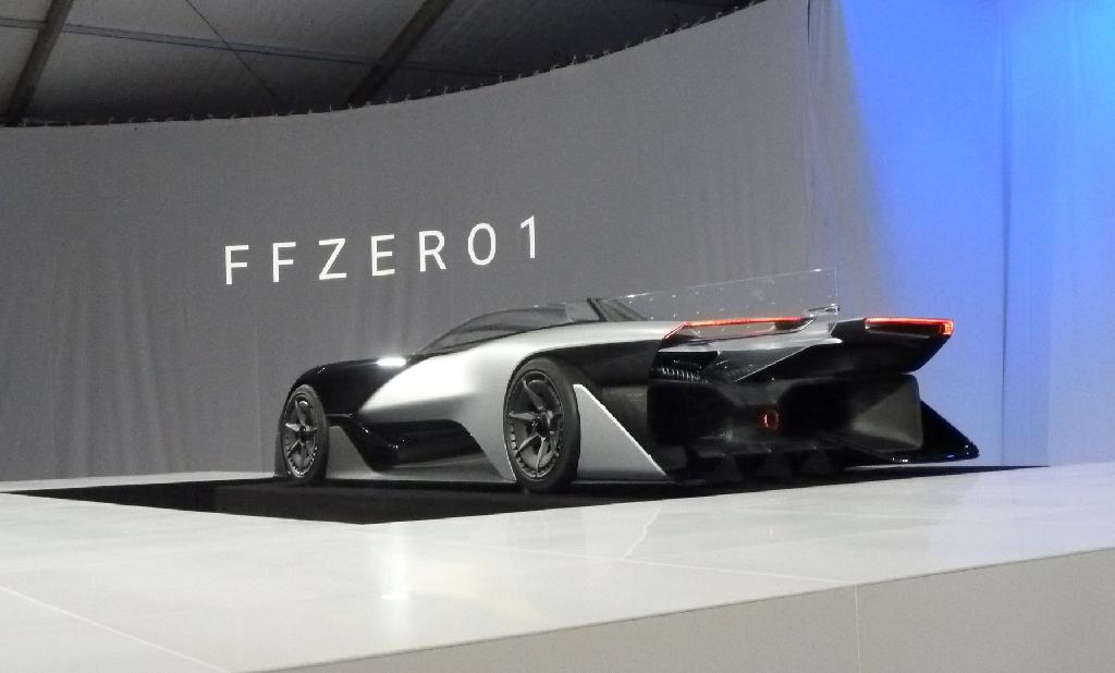 Faraday Future says it plans to produce its first electric car by 2018 (AFP Photo/Rob Lever)