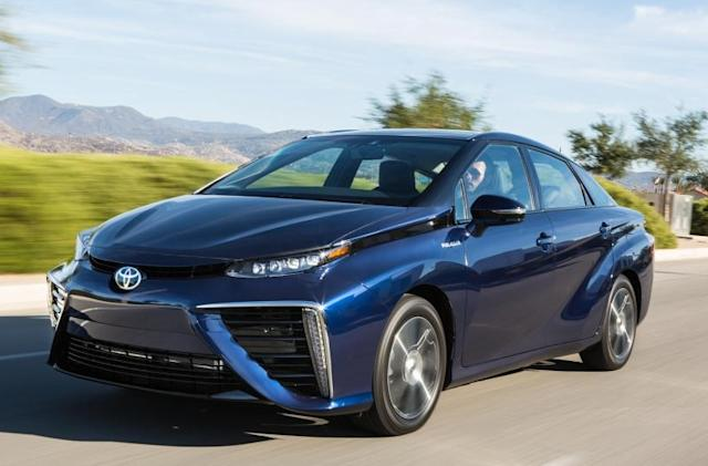 Toyota's hydrogen car gets a name and more US filling stations (update: and price)