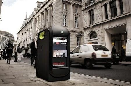 Trash cans tracking iPhone data in London