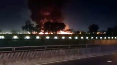 菲醫療專機8死 起火爆炸畫面驚人