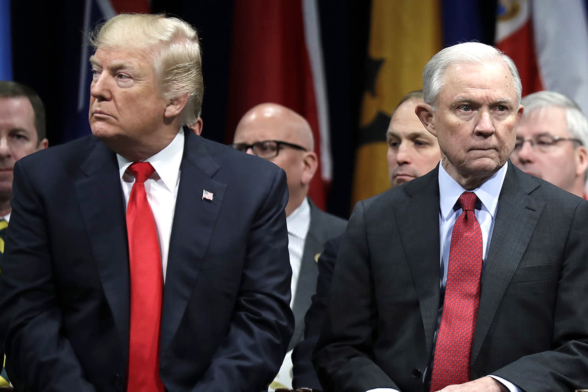 Sessions claps back at Trump: 'You're damn fortunate' I recused from Russia probe