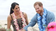 Britain's royal couple join mental health group hug on Australia's Bondi Beach