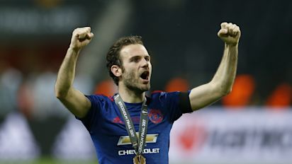 Juan Mata dedicates Manchester United's Europa League triumph to the city