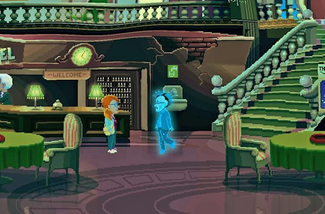 Retro adventure 'Thimbleweed Park' comes to Switch on September 21st