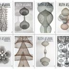Pioneering Japanese American Artist Ruth Asawa Honored With Forever Stamps