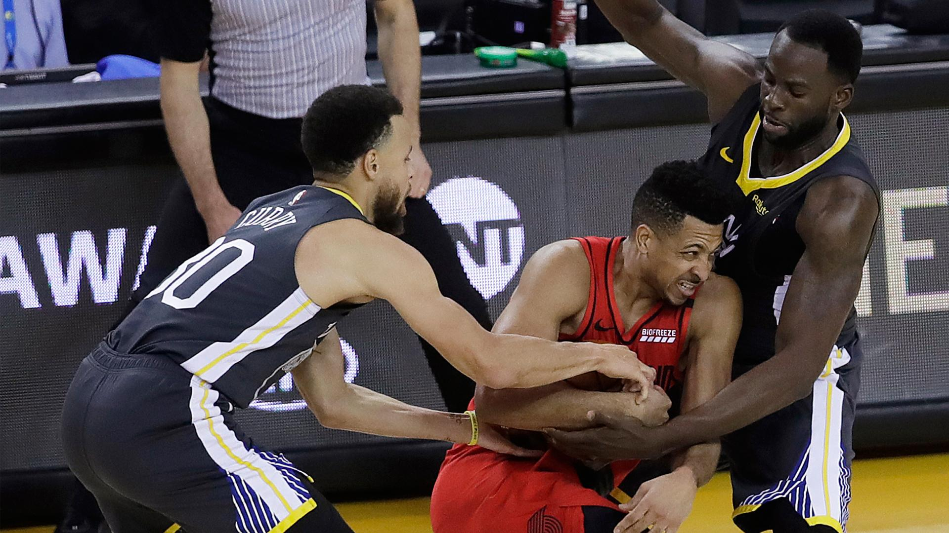 Blazers' CJ McCollum describes what separates Warriors from everybody