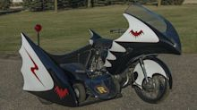 Relive Your TV Dreams With A 1967 Replica Batcycle