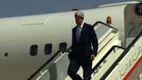 Kerry arrives in Jordan as tensions grip Middle East