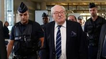 "Le Pen's father says gay marriage ""exalted"" in ceremony for dead policeman"