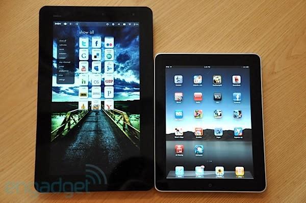 iPad y Joojoo frente a frente