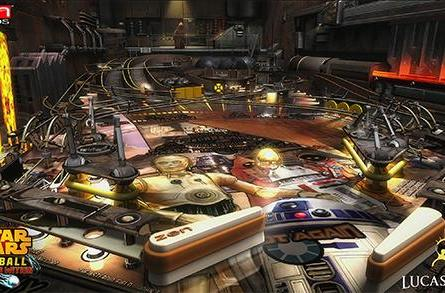 Four new tables join Star Wars Pinball on April 29