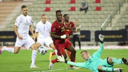 Foot - L. Nations - BEL - Ligue des Nations: Michy Batshuayi après son doublé contre l'Islande «Je me sens libéré»