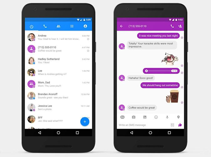 Facebook Messenger's SMS push might break Android app rules (updated)