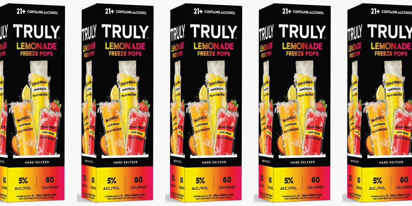 Truly Hard Seltzer Has Turned Its Lemonade Flavors Into Boozy Ice Pops